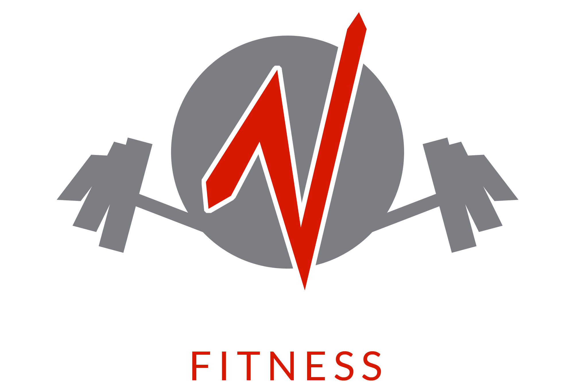NEW-England-Fitness-Barbell-Grey-FitRed